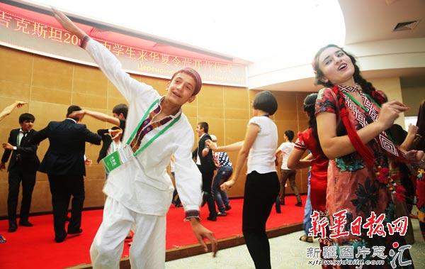 Китайский летний лагерь принимает 200 таджикских школьников