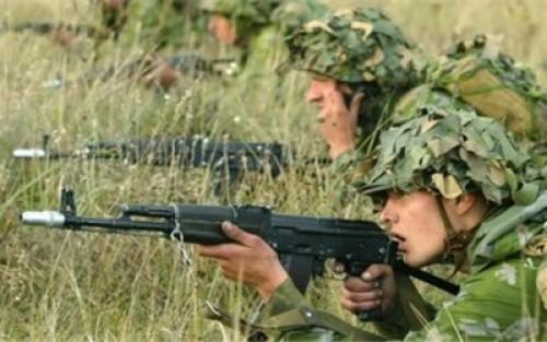 """На учении """"Селенга-2014"""" российские и монгольские военнослужащие провели первую совместную тренировку"""