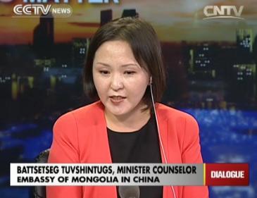 Battsetseg Tuvshintugs, Minister Counselor of Embassy of Mongolia in China