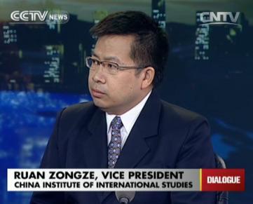 Ruan Zongze, vice president of China Institute of International Studies