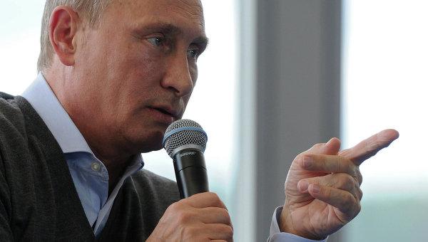 Россия не будет втягиваться в крупномасштабные конфликты -- Владимир Путин