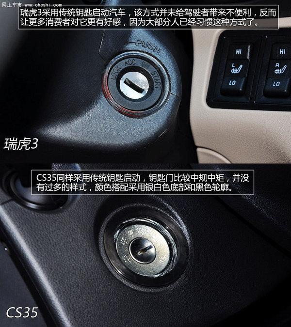 同价格国产SUV的选择 瑞虎3对比长安CS35