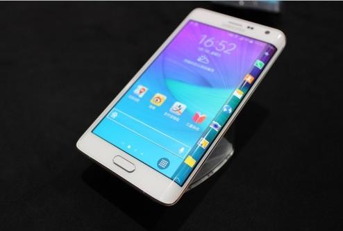手机侧面也有屏幕 三星note