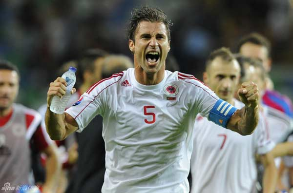 A Seleccao were back again in the 22nd minute, Joao Moutinho