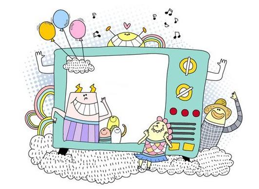 ppt 背景 背景图片 边框 动漫 卡通 漫画 模板 设计 头像 相框 532
