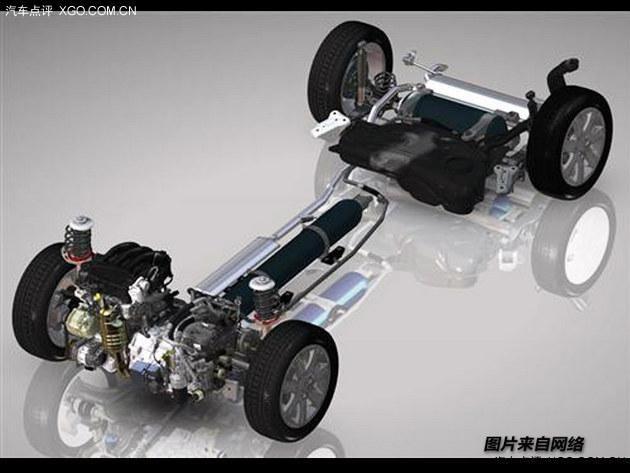 空气混合动力系统高清图片