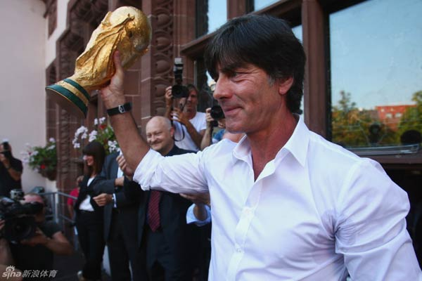 Fans chanted Loew