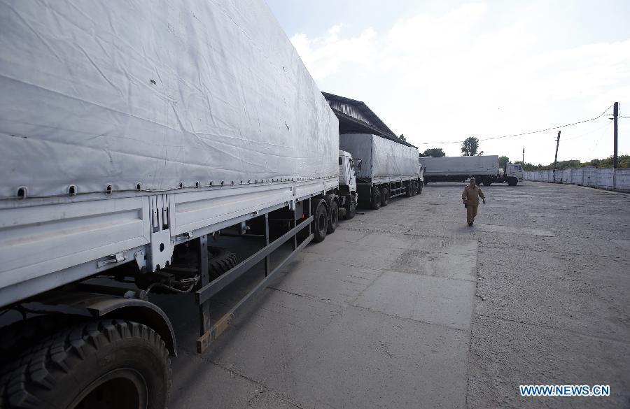 Все машины второго конвоя РФ с гуманитарной помощью для Украины прошли российскую таможню