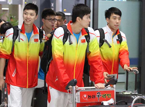 China, who named a 61-member swimming squad, is again expected to dominate the medals after scooping up the lion