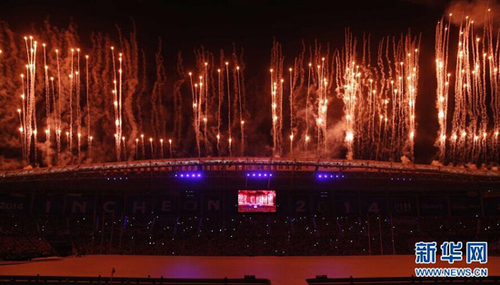 The opening of the 17th Asian Games kicks off with an elaborate ceremony in Incheon.