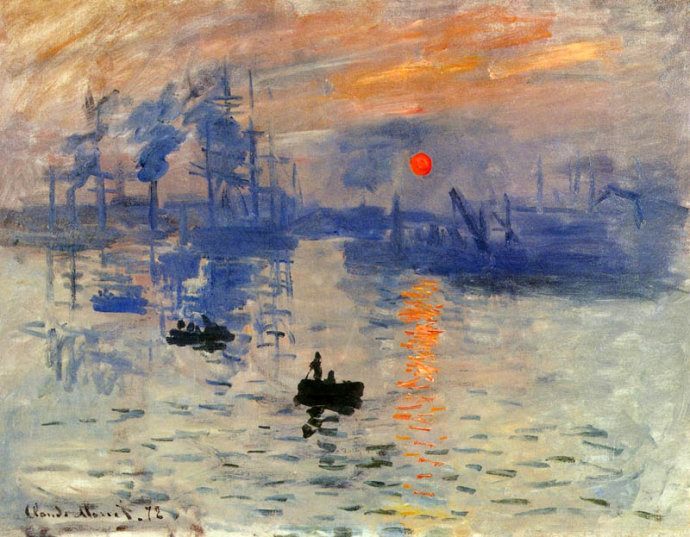 Impressionism Monet Sunrise   Impression  Sunrise