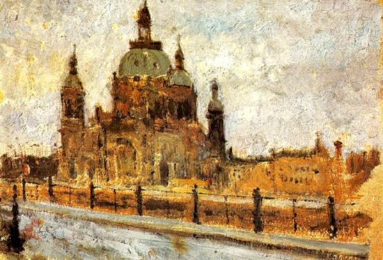 欧式宫殿油画图片