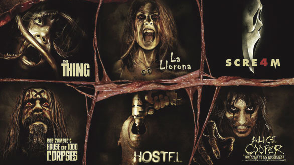 clowns zombies vampires gore and more will be seen at the event - Halloween Horror Night Theme
