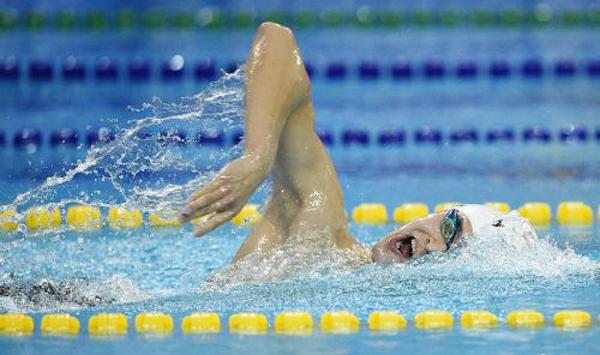 Sun Yang remporte la médaille d