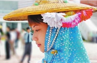 大岞村里的惠安女服饰