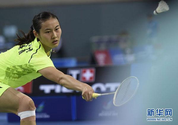 Wang Yihan obtiene otro oro para China en bádminton femenino