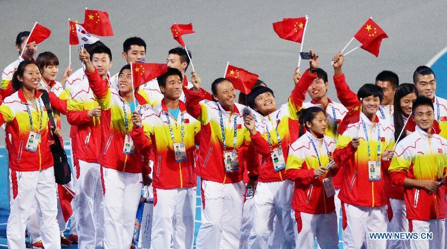 Китай в очередной раз стал медальным лидером Азиатских игр