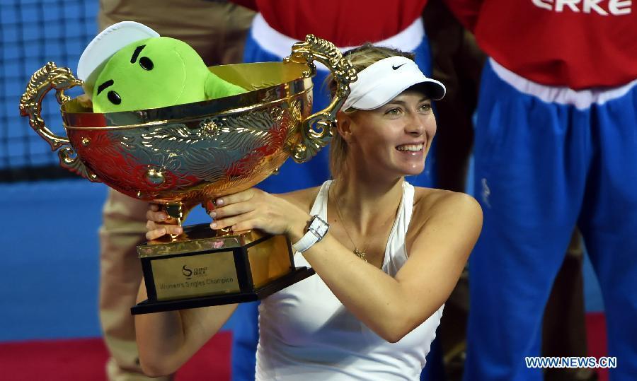 М.Шарапова выиграла Открытый чемпионат Китая по теннису