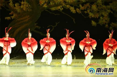 中国歌舞剧院大型民族舞剧《孔子》海口上演