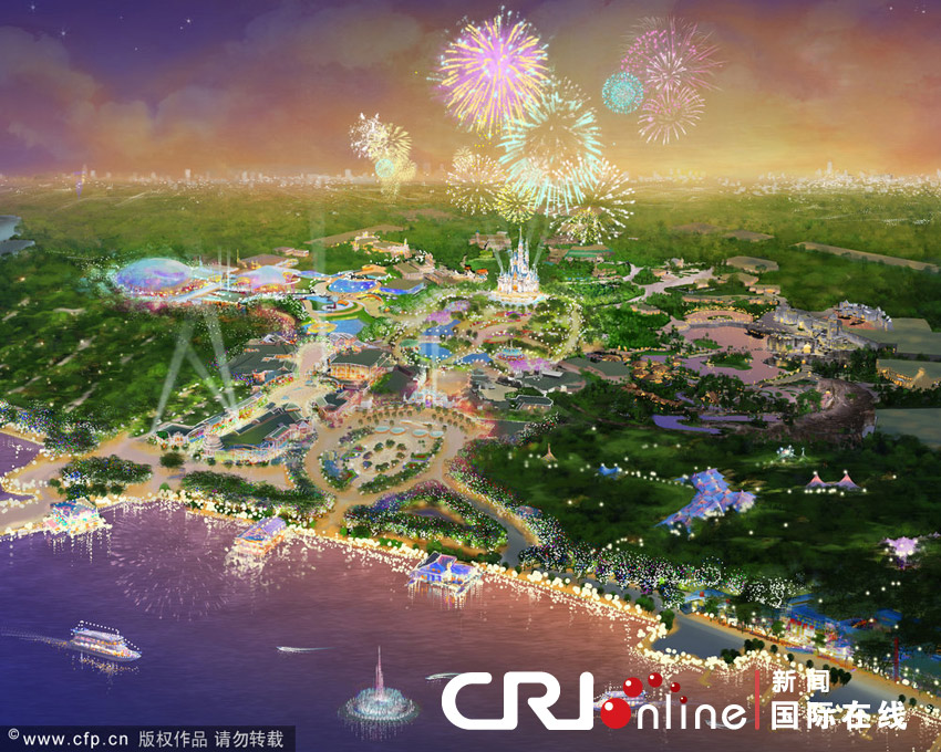Park to open at end of 2015 with largest disney castle cctv news shanghai disneyland will open to the public at the end of next year gumiabroncs Gallery