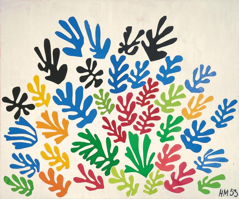 "The show, ""Henri Matisse: the Cut-Outs,"" which runs from October through next February at the Museum of Modern Art, includes 100 works from private and public collections."