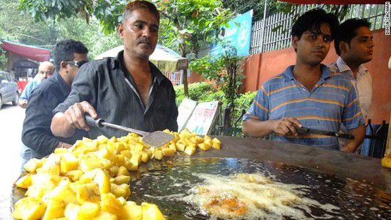 挡不住的美食诱惑:印度可口小吃