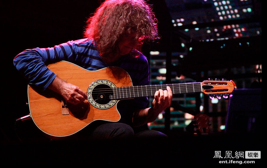 "US Jazz legend Pat Metheny gave a free concert on Friday, ahead of the weekend event backed up   by his new ""Unity Band"" project."