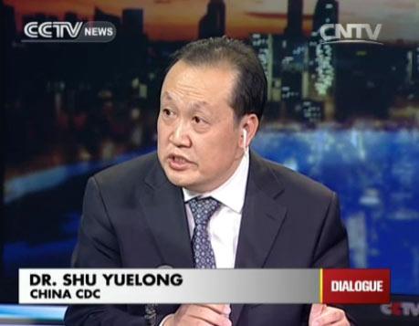 Dr. Shu Yuelong, China CDC