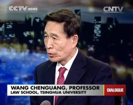 Wang Chenguang, Professor of Law School, Tsinghua University