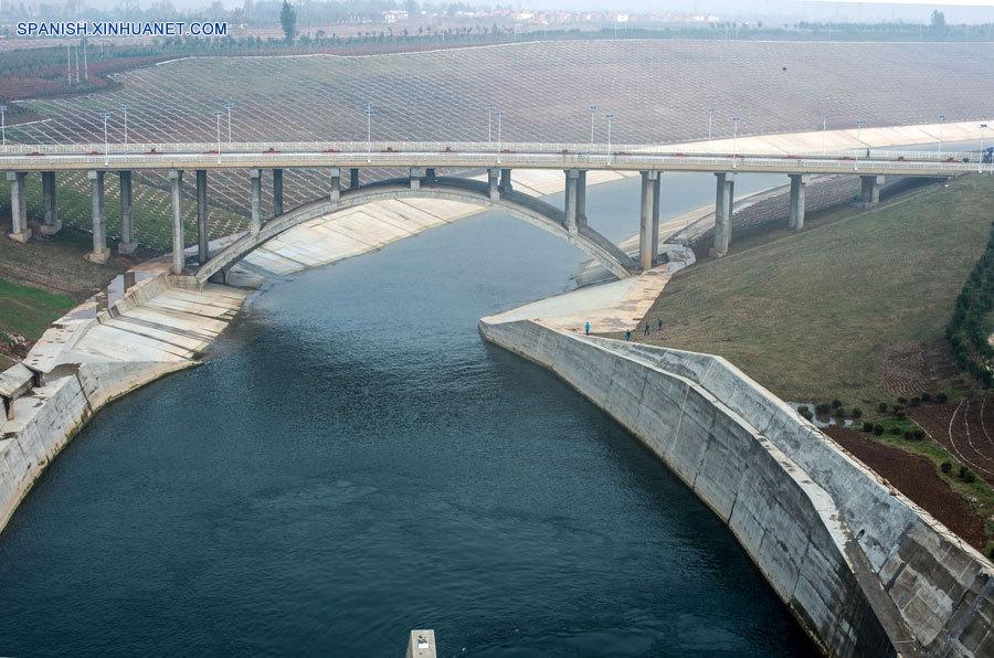 Proyecto de trasvase de agua de China comenzará sus operaciones en  octubre