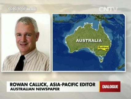 Rowan Callick, Asia-Pacific Editor, Australian Newspaper