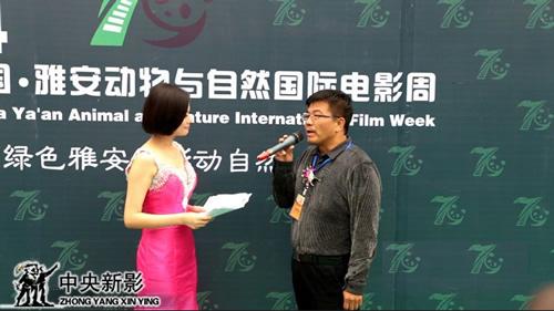 中央新影集团副总裁、副总编辑赵捷参加电影周活动