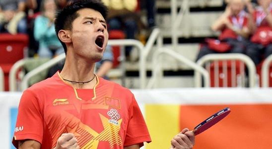 Китаец Чжан Цзикэ выиграл Кубок мира ITTF 2014 года среди мужчин