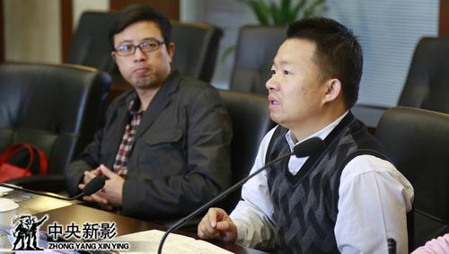长航局郭涛、殷黎两位领导介绍情况。