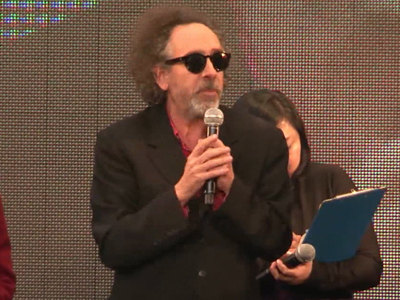 "Tim Burton, who is best known for his work on ""Edward Scissorhands,"" ""Charlie and the Chocolate Factory"" and ""Batman,"" is a big fan of Ultra Kaiju monsters."