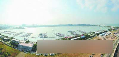 五缘湾游艇码头的优势得天独厚。