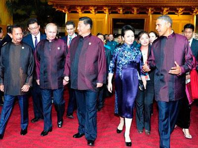 揭秘apec领导人服装:特色中式服装尽显魅力图片