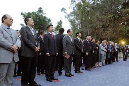 参加开幕式的领导和嘉宾