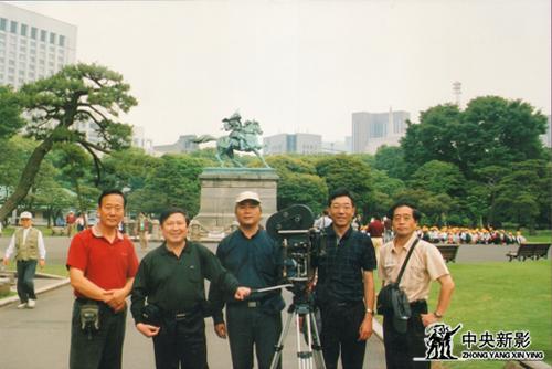 《為了勝利》攝制組在日本廣島拍攝