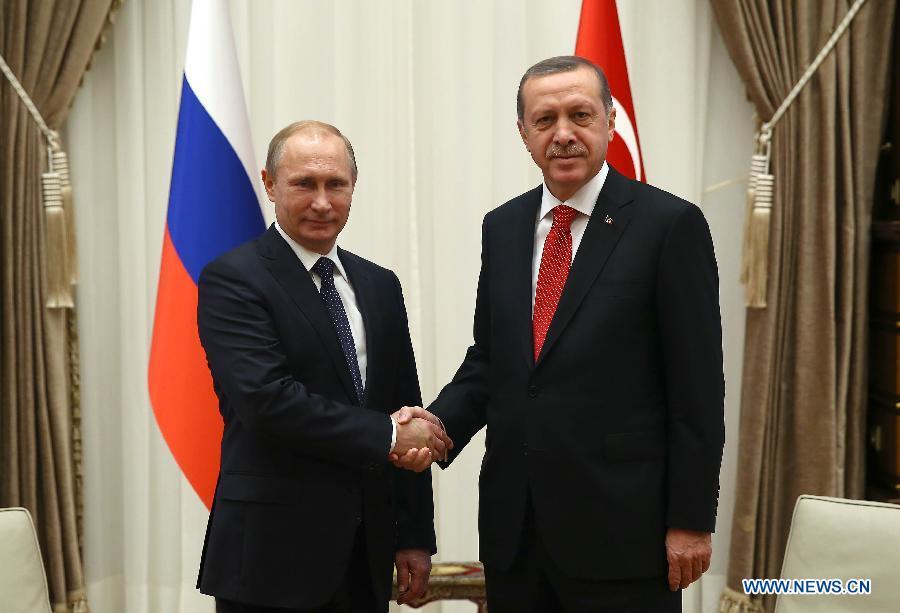 В. Путин: Россия будет по льготной цене экспортировать природный газ в Турцию