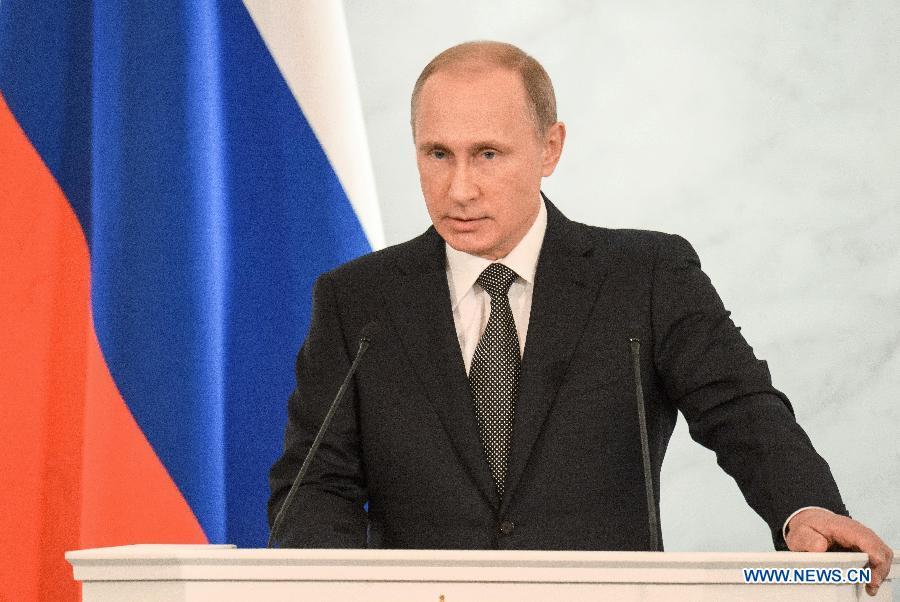 В. Путин назвал санкции и ограничения стимулом для достижения поставленной цели