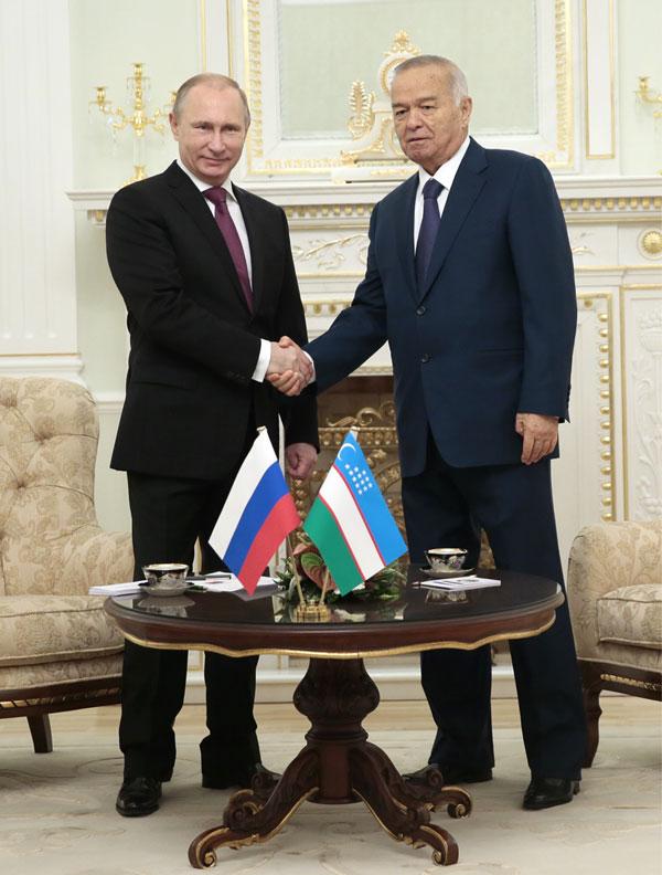 Президенты Узбекистана и России провели переговоры в Ташкенте Михаил Метцель/ТАСС
