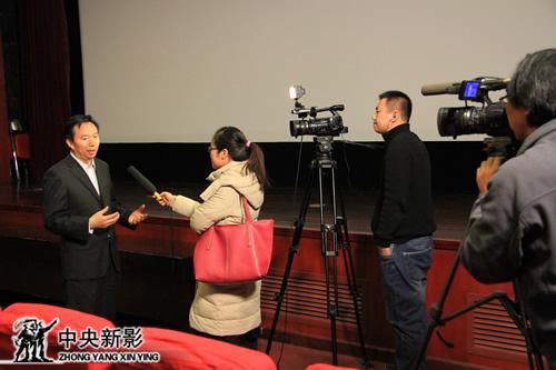 中央新影集团副总裁、总编辑,《乡愁》监制、 制片人郭本敏接受采访