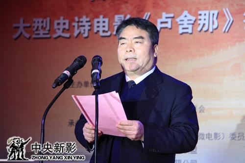 洛阳高新区主任马志强介绍项目进展情况