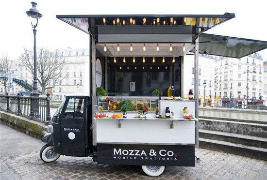 巴黎11辆最牛快餐车 街头小吃也美味