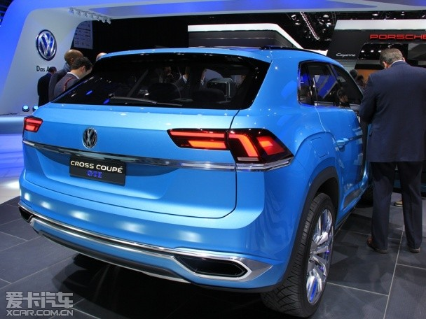 大众全新SUV概念车 北美车展正式发布高清图片