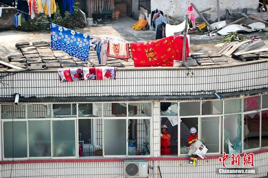 广西宁明爆炸事故现场曝光 已致6死18伤(图)