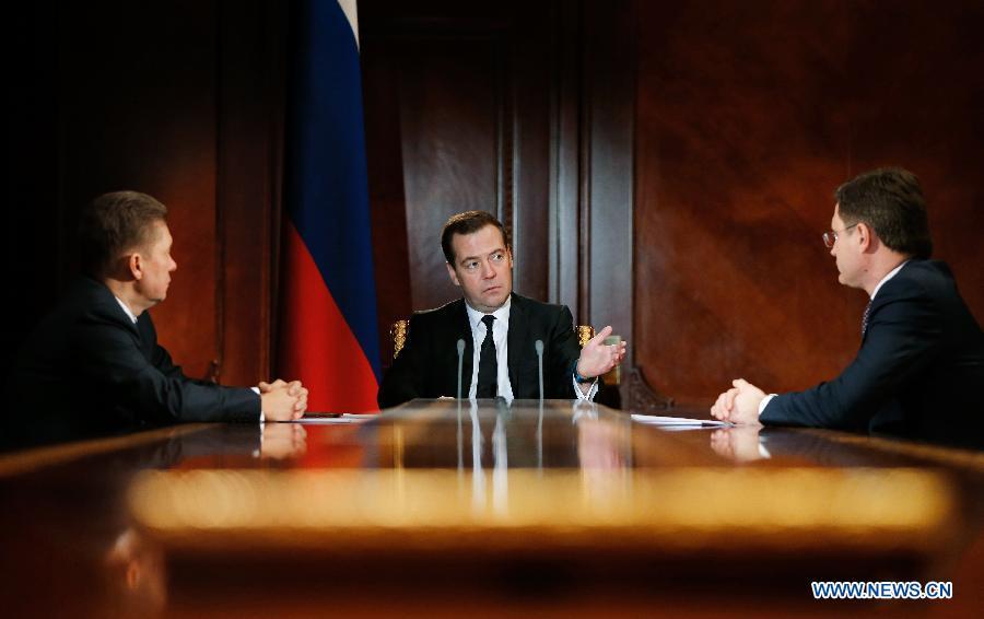 Скидки на газ для Украины прекратят действовать с 1 апреля -- А. Миллер