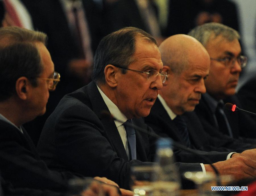 Процесс урегулирования в Сирии будет длительным -- С. Лавров