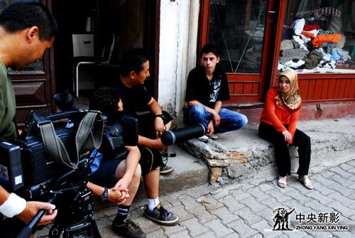 土耳其街头的采访